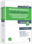 Prezentare comparativa. Legea nr. 85/2014 privind procedurile de prevenire a insolventei si de insolventa si vechea reglementare | Autor: Av. Arin Octav Stanescu