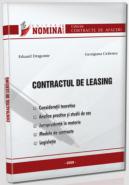 Contractul de Leasing (De: Av. Eduard Dragomir; Georgiana Ciobotea)