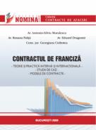 Contractul de franciza (Av. Antonio-Silviu Mutulescu, Av. Roxana Palita, Av. Eduard Dragomir, Cons. Jur. Georgiana Ciobotea)