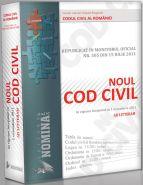 Noul Cod Civil Republicat (Ad litteram - editie cartonata, noiembrie 2011)