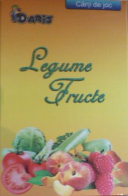Carti de joc | Legume - Fructe