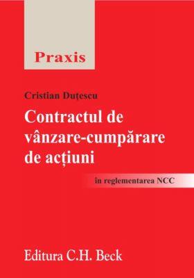 Contractul de vanzare-cumparare de actiuni in reglementarea NCC