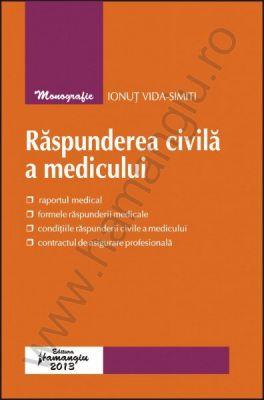 Raspunderea civila a medicului | Autor: Ionut Vida-Simiti