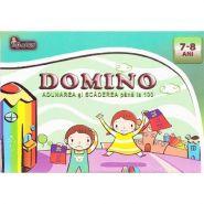 Domino | Adunarea si scaderea pana la 100 | 7-8 Ani