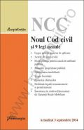 Noul Cod civil si 9 legi uzuale - actualizat 3 septembrie 2014