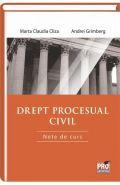 Drept procesual civil. Note de curs | Autori: Marta Claudia Cliza, Andrei Grimberg