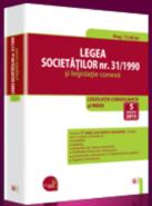 Legea societatilor nr. 31/1990 si legislatie conexa. Actualizare: 5 ianuarie 2015