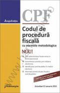 Codul de procedura fiscala cu normele metodologice | Actualizare: 21 ianuarie 2015