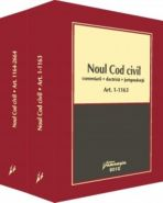 Noul Cod civil. Comentarii, doctrina, jurisprudenta (3 volume) - Editura Hamangiu
