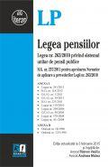 Legea pensiilor, editie actualizata 3 februarie 2015