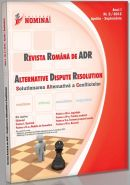 Revista Romana de ADR nr. 2/2012 (Solutionarea Alternativa a Conflictelor)