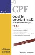 Codul de procedura fiscala cu normele metodologice (actualizat prin OG nr. 8/2013)