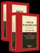Noul Cod de procedura civila | Comentariu pe articole | Coordonator: Gabriel Boroi