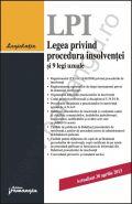 Legea privind procedura insolventei si 9 legi uzuale [Actualizare: 26 aprilie 2013]