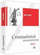 Criminalistica - 2013 | Autor: Marin Ruiu