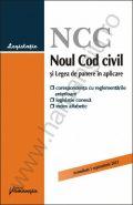 Noul Cod civil 2013 [corespondenta cu reglementarile anterioare, legislatie conexa si index alfabetic]