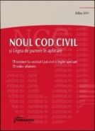 Noul Cod civil si Legea de punere in aplicare