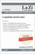 Legislatia insolventei | Actualizare: 5.02.2014 | Coordonator: Piperea Gheorghe