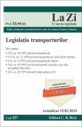 Legislatia transporturilor | Coordonator: Andreea-Teodora Stanescu | Actualizare: 15.02.2014