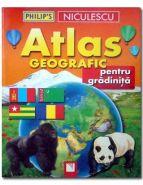 Atlas geografic pentru gradinita | Autori: David Wright, Rachel Noonan