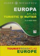 Europa - Atlas turistic si rutier | Autor: Huber Niculescu