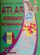 Atlas Geografic Romania Scolar (actualizat la zi) | Autor: Marius Lungu